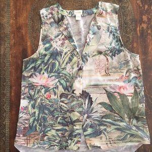 H&M Conscious Collection sleeveless blouse